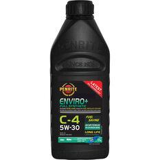 Penrite Enviro+ C4 Engine Oil 5W-30 1 Litre, , scaau_hi-res
