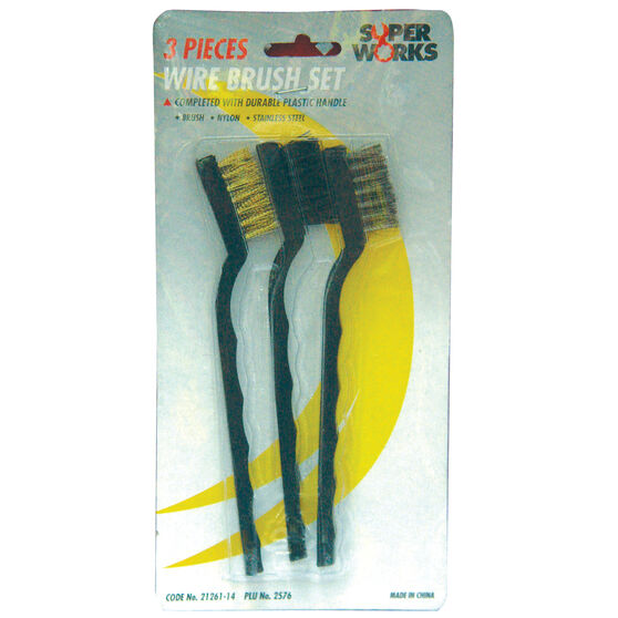 SCA Wire Brush Set - 3 Piece, , scaau_hi-res