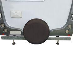 SCA Caravan Spare Wheel Cover - 27 inch, Black, , scaau_hi-res