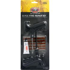 SCA 8 Piece Tyre Repair Kit, , scaau_hi-res