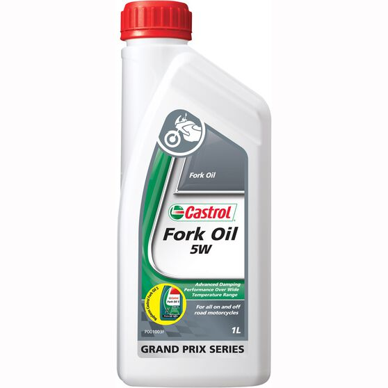 Castrol Motorcycle Fork Oil, SAE5 - 1 Litre, , scaau_hi-res