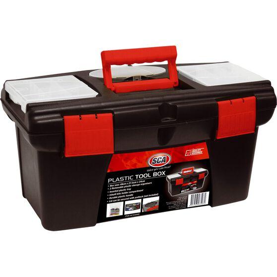 SCA Tool Box, Plastic - 49cm, , scaau_hi-res