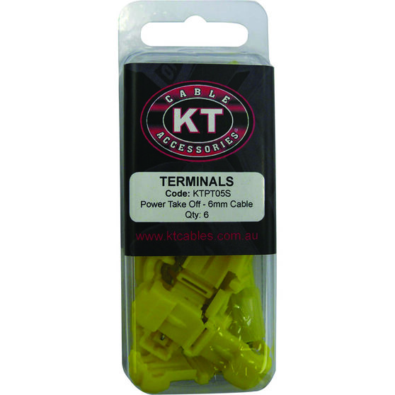 KT Cable Power Take Off - Yellow, 6 Pack, , scaau_hi-res