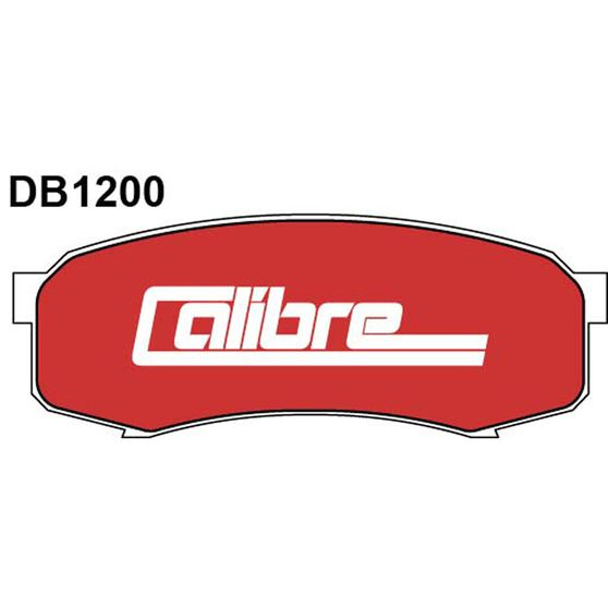 Calibre Disc Brake Pads DB1200CAL, , scaau_hi-res