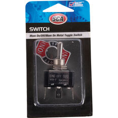 SCA Switch - Toggle, On / Off / On, Metal, With Tab, , scaau_hi-res