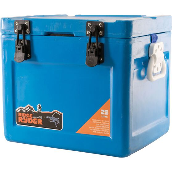 Ridge Ryder by Evakool Ice Box - Blue, 25 Litre, , scaau_hi-res