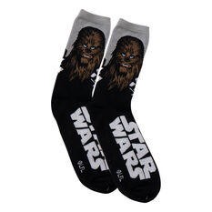 Star Wars Chewie Character Socks, , scaau_hi-res