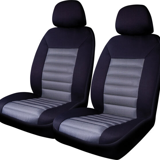 SCA Memory Foam Seat Cover - Black Mesh, 30SAB, , scaau_hi-res