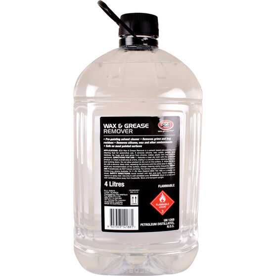 SCA Wax and Grease Remover - 4 Litre, , scaau_hi-res