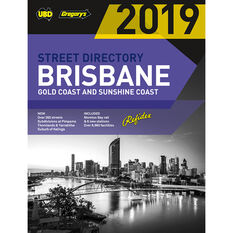 Gregory's UBD Brisbane Street Directory - 63rd Edition, 2019, , scaau_hi-res