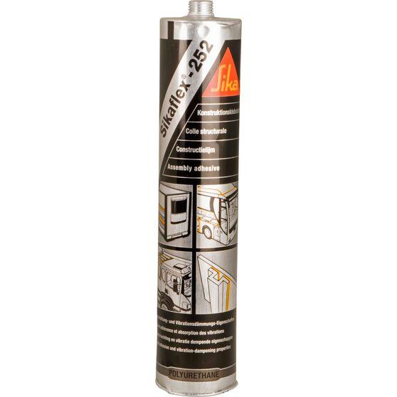 Sikaflex 252 Adhesive - Black, 300ml, , scaau_hi-res