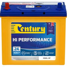 Century Hi Performance Car Battery NS60L MF, , scaau_hi-res