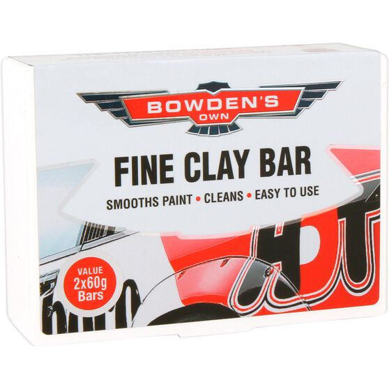 Bowden's Own Bowden's Own Fine Clay Bar - 2 Pack, , scaau_hi-res