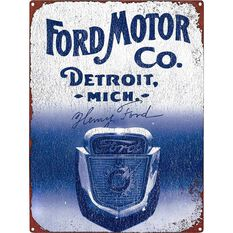 Tin Sign Ford, , scaau_hi-res