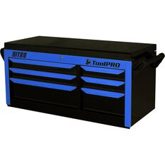 ToolPro Neon Tool Cabinet, 6 Drawer, Top Chest - Nitro 42 inch, , scaau_hi-res