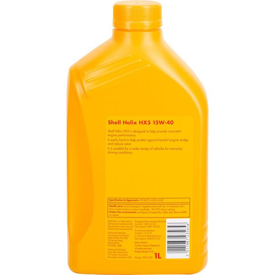 Shell Helix HX5 Engine Oil - 15W-40, 1 Litre, , scaau_hi-res
