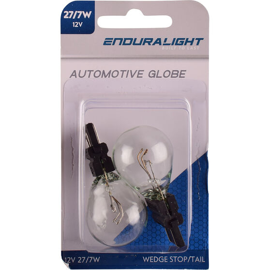 Enduralight Automotive Globe - Plastic Wedge Bulb, 12V, 27 / 7W, , scaau_hi-res