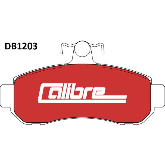 Calibre Disc Brake Pads DB1203CAL, , scaau_hi-res