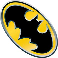Hot Stuff Sticker - Batman Yellow Emblem, Vinyl, , scaau_hi-res