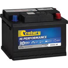 Century Hi Performance Car Battery DIN53L MF, , scaau_hi-res