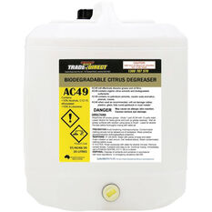 Trade Direct Biodegradable Citrus Degreaser, 20 Litre ST/AC49/20, , scaau_hi-res