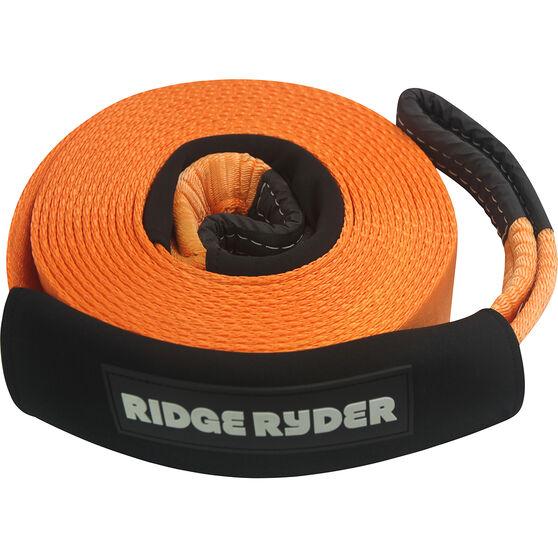 Ridge Ryder Snatch Strap 9m 8000kg, , scaau_hi-res