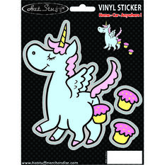 Hot Stuff Sticker - Unicorn Fart, Vinyl, , scaau_hi-res