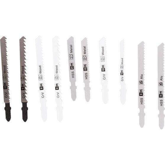 ToolPRO Jigsaw Blade Set - 10 Pieces, , scaau_hi-res