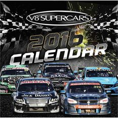 V8 Supercars 2016 Wall Calendar, , scaau_hi-res