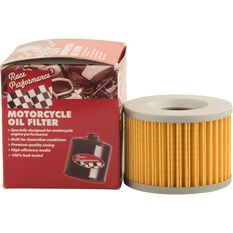 Race Performance Motorcycle Oil Filter - RP111, , scaau_hi-res