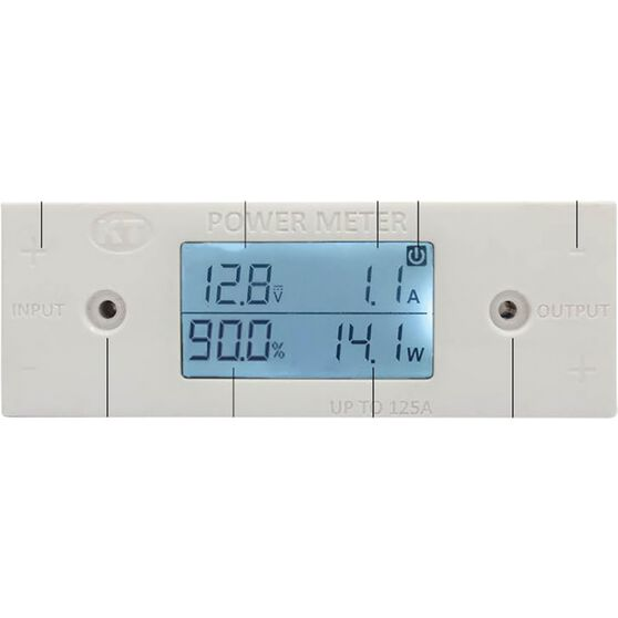 KT Cable Solar Power Meter - Volts, AMPs  and  Watts - KT70752, , scaau_hi-res
