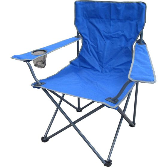 Ridge Ryder Camping Chair - 100kg, , scaau_hi-res