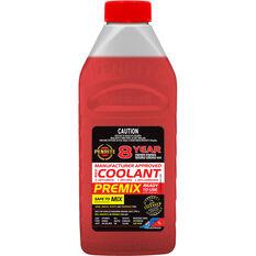 Penrite Red Long Life Anti Freeze / Anti Boil Premix Coolant - 1L, , scaau_hi-res