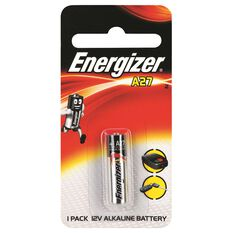 Speciality Alkaline Battery - A27, 1 Pack, , scaau_hi-res