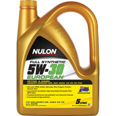 Nulon Full Synthetic European Engine Oil 5W-30 5 Litre, , scaau_hi-res