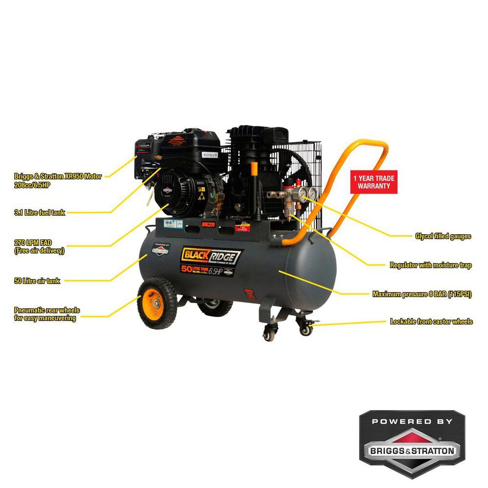 Blackridge belt drive air compressor