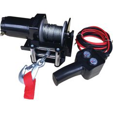 Ridge Ryder Electric Winch - 12V, 1500lb, , scaau_hi-res