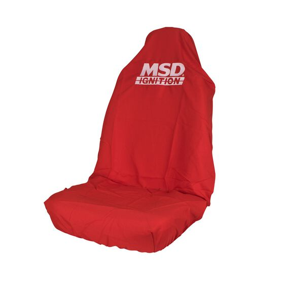 MSD Car Seat Cover - Red, Built-in Headrest, Size 60, Slip On, Single, , scaau_hi-res