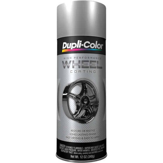 Dupli-Color Aerosol Paint - Wheel Coating, Silver, 340g
