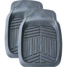 Ridge Ryder Deep Dish Car Floor Mats  - Grey, Front, 2 Pack, , scaau_hi-res