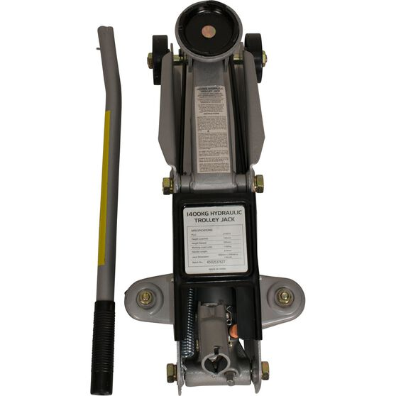 SCA Hydraulic Trolley Jack - 1400kg, , scaau_hi-res