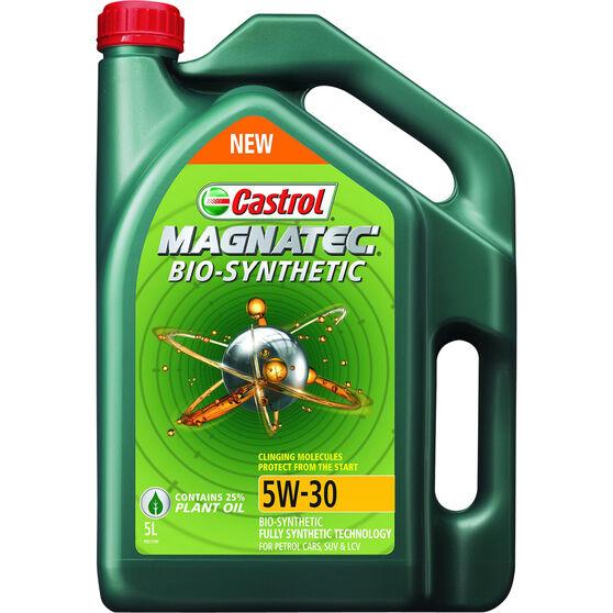 Castrol Magnatec Bio-Synthetic - 5W-30 5 Litre, , scaau_hi-res