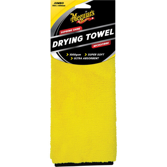 Meguiar's Supreme Shine Drying Towel - 700 x 400mm, , scaau_hi-res