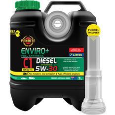Penrite Enviro+ C1 Engine Oil 5W-30 7 Litre, , scaau_hi-res