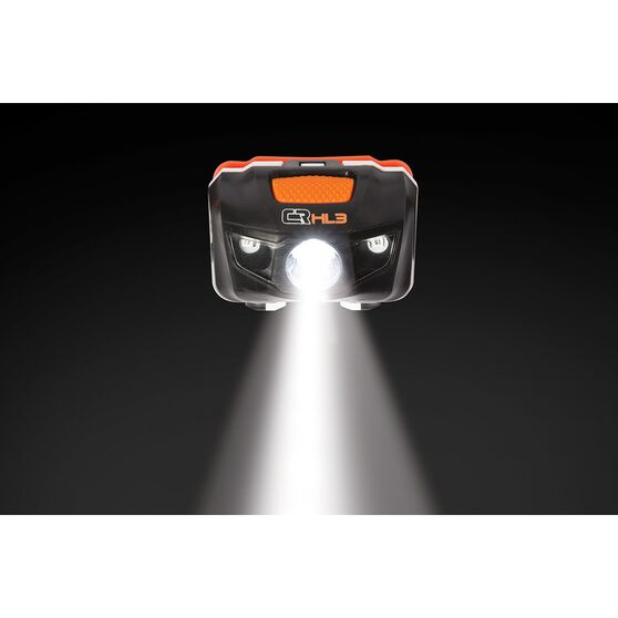 Ridge Ryder Head LAMP and Torch Combo - LED, H3, 6AAA, , scaau_hi-res