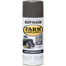 Rustoleum Aerosol Paint - Specialty Farm and Implement Enamel, Massey Ferguson Grey, , scaau_hi-res