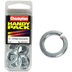 Champion Spring Washers - 1 / 2inch, BH332, Handy Pack, , scaau_hi-res