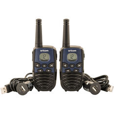 Oricom UHF CB Radio 1W 2 Pack PMR1295, , scaau_hi-res