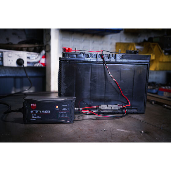 SCA 12V 4 Amp 3 Stage Battery Charger, , scaau_hi-res