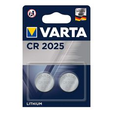 Varta Lithium Coin Battery - CR2025, 2 Pack, , scaau_hi-res